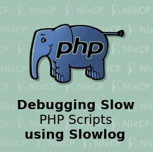 debug slow php scripts slowlog