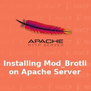 installing brotli apache